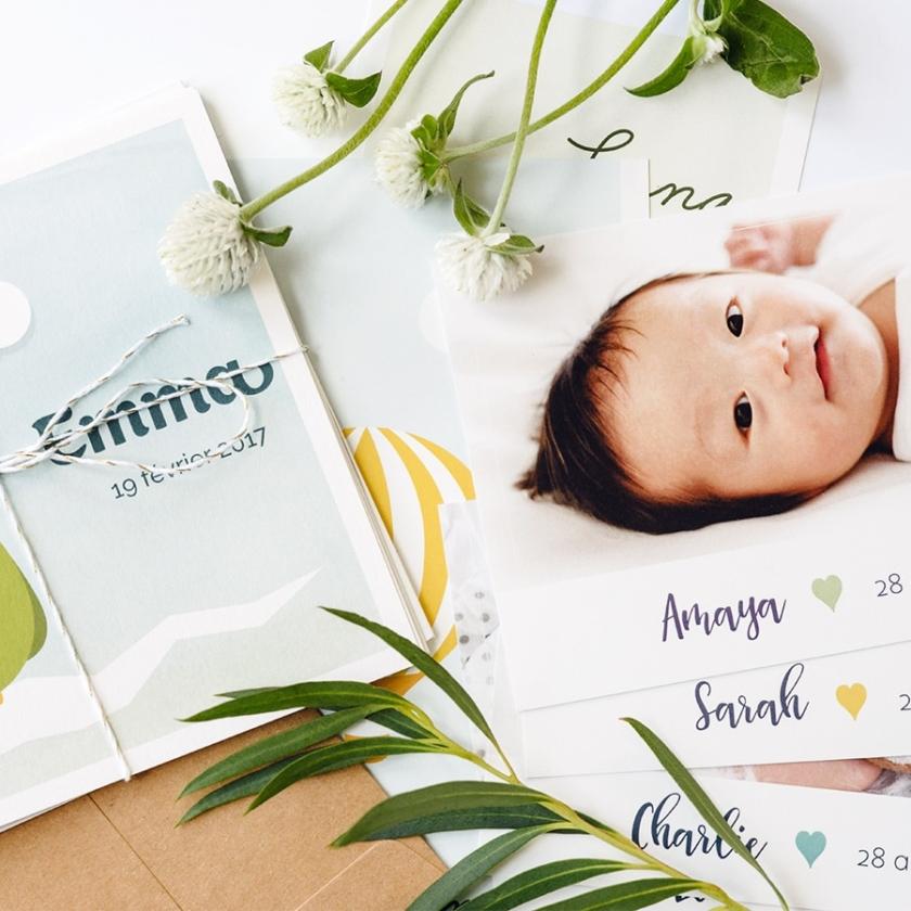 Faire-part naissance et adoption