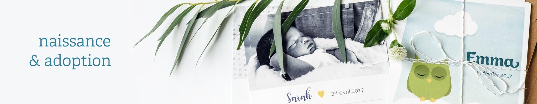 Faire-part naissance & adoption